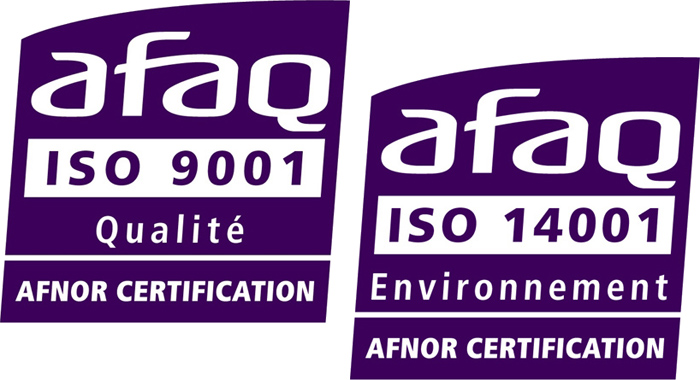 ISO 9001 and ISO 14001 Certification